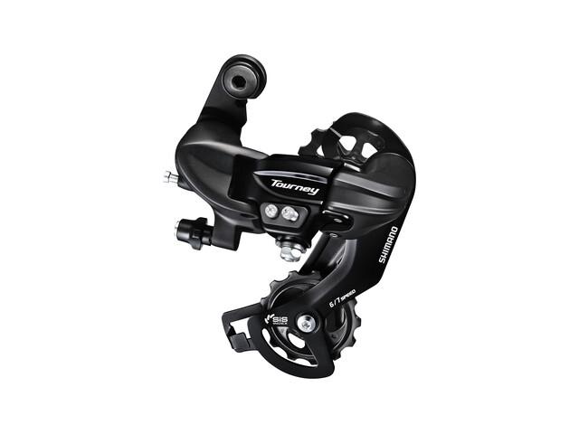 Shimano Tourney RD-TY300 Derailleur 6/7-speed directe montage zwart